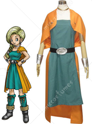 Dragon Warrior V Bianca Whitaker Cosplay Costume