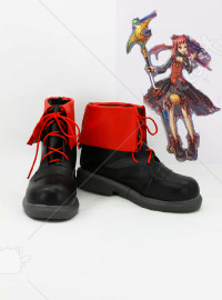 Dungeon and Fighter Female Mage Cosplay Shoes
