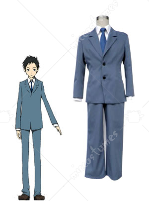 DuRaRaRa Mens School Uniform Cosplay Costume