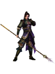 Dynasty Warriors 4 Jiang Wei Cosplay Costume