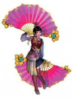 Dynasty Warriors 5 Da Qiao Cosplay Costume