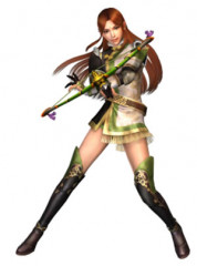 Dynasty Warriors V Huang Yueying Cosplay Costume