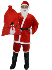 Economy Santa Suit Adult Costume for Women
