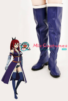 Fairy Tail Erza Scarlet Cosplay Schuhe