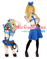 Fairy Tail Lucy Cosplay Costume