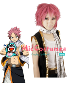 Fairy Tail Natsu Cosplay Perruque