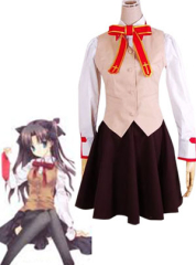 Fate Stay Night Homurabara Gakuen Girls Uniform Cosplay Costume