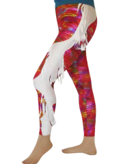 Female Multicolor Spandex Pants