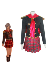 Final Fantasy Agito XIII Female Uniform Cosplay Costume