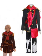 Final Fantasy Agito XIII Male Uniform Cosplay Costume