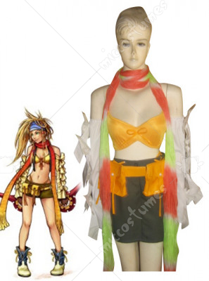 Final Fantasy Rikku Cosplay Costume