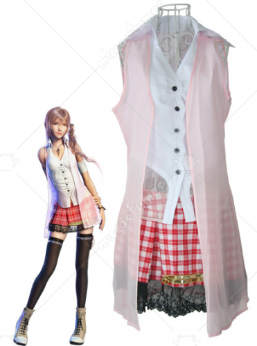 Final Fantasy Serah Farron Cosplay Costume