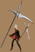 Final Fantasy Type-0 Sice Cosplay Scythe