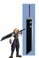 Final Fantasy VII Cloud Strife Cosplay Sword