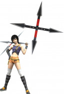 Final Fantasy VII Yuffie Kisaragi Cosplay Shuriken