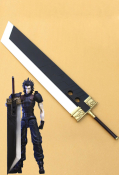Final Fantasy VII Zack Fair Cosplay Sword