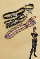 Final Fantasy X-2 Pine Cosplay Accessories Full Set