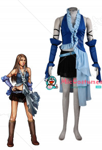 Final Fantasy X-2 Yuna and Lenne Cosplay Costume