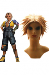 Final Fantasy X Tidus 25cm Cosplay Wig