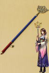 Final Fantasy X Yuna Cosplay Wand