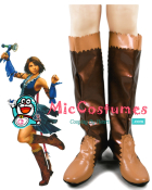 Final Fantasy Xii Yuna Lenne Song Cosplay Shoes