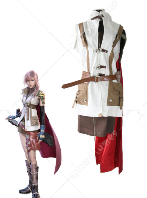 Final Fantasy XIII Lightning Cosplay Costume