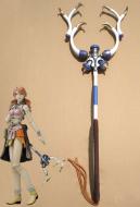 Final Fantasy XIII Oerba Dia Vanille Cosplay Wand