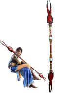 Final Fantasy XIII Oerba Yun fang Cosplay Spear