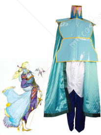 Final Fantasy VI Edgar Roni Figaro Cosplay Costume