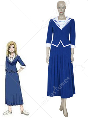 Fruits Basket Arisa Uotani Uniform Cosplay Costume