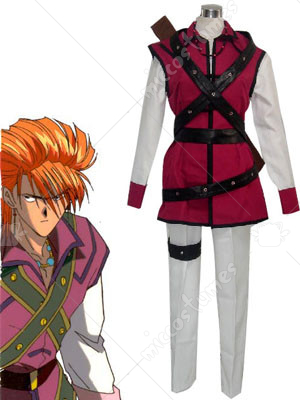 Fushigi Yuugi Tasuki Cosplay Costume In Chapter 17