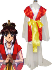 Fushigi Yuugi Miaka Yuki Cosplay Costume As Psychic
