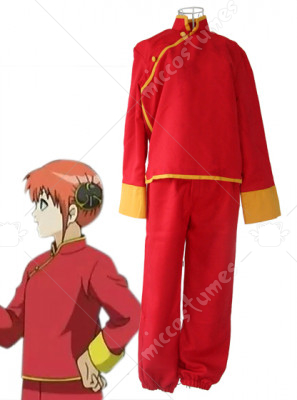Gintama Silver Soul Kagura Cosplay Costume