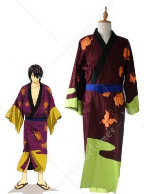 Gintama Takasugi Shinsuke Cosplay Costume