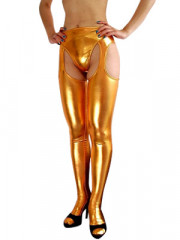 Gold Shiny Metallic Sexy Bumbum Costume
