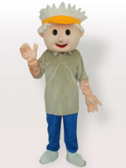 Golf Boy Adult Mascot Costume