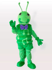 Green Caterpillar Adult Mascot Costume