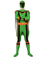 Green Lycra Spandex Super Hero Zentai Suit