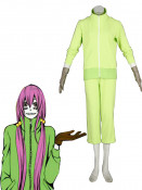 Green Vocaloid Matryoshka Megurine Luka Cosplay Costume