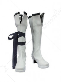 Grey Pandora Hearts Oz Vessalius Cosplay Shoes Boots