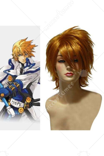 Guilty Gear Ky Kiske Cosplay Wig