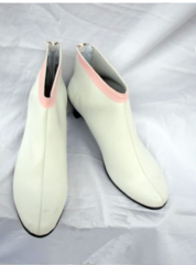 Gundam Seed Lacus Cosplay Shoes Boots