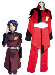 GUNDAM SEED zaft men red uniform cosplay costume