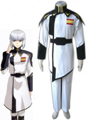 GUNDAM SEED zaft men white uniform cosplay costume