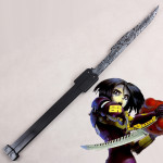 Gunnm Battle Angel Alita Gally Cosplay Damascus sword