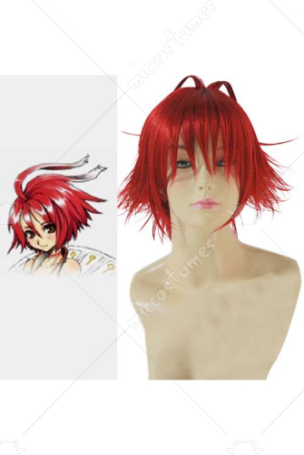 Hack Alkaid Red Custom Styled Cosplay Wig