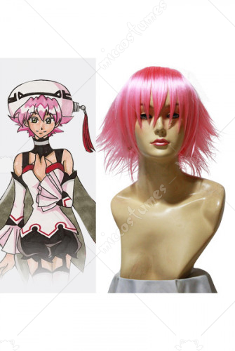 Hack Shino Pink Cosplay Wig