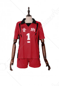 (Free Shipping)Haikyuu!! Nekoma High Kuroo Tetsurou Cosplay Costume