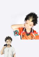 Haikyuu!! Karasuno High Yuu Nishinoya Cosplay Wig