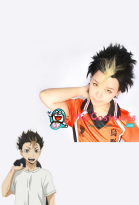 Haikyuu!! Karasuno High Yuu Nishinoya Cosplay Wig